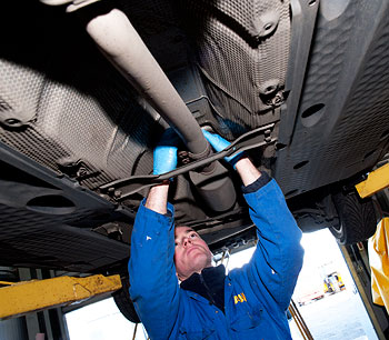 Commercial Vehicle Maintenance, MOT, West Lothian